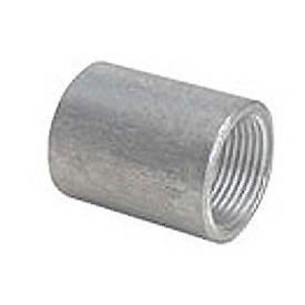 Capitol 11202015 Non-Recessed Tapper Tapped Coupling 150# Galvanized Steel - 1-1/2''