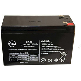 AJC® Brand Replacement UPS Batteries for APC SYBATT 7 Amps