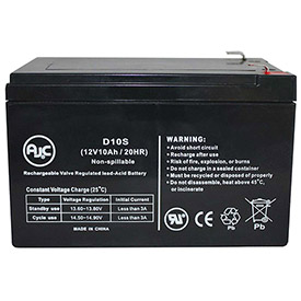 AJC® Brand Replacement UPS Batteries for PowerWare 10 Amps