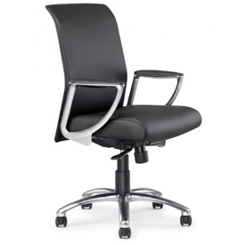 Allseating Leather Upholstered Chairs