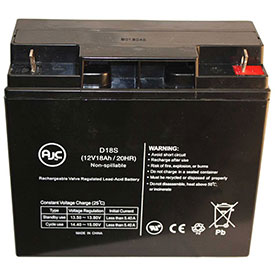 AJC® Brand Replacement Medical Batteries 12 Volts 18 Amps