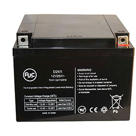 AJC® Brand Replacement Medical Batteries 12 Volts 26 Amps