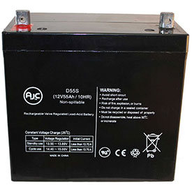 AJC® Brand Replacement Medical Batteries 12 Volts 55 to 75 Amps