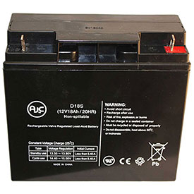 AJC® Brand Replacement Lead Acid Batteries For Diamec