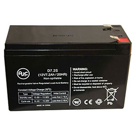AJC® Brand Replacement Lead Acid Batteries For Edwards