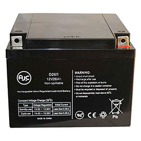 AJC® Brand Replacement Lead Acid Batteries For EL Power