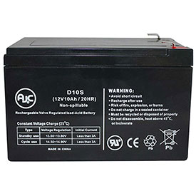 AJC® Brand Replacement Lead Acid Batteries For Power Rite