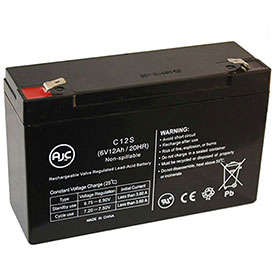 AJC® Brand Replacement Lead Acid Batteries For Powertron