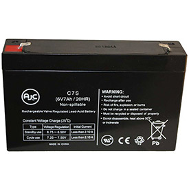 AJC® Brand Replacement Home Alarm Batteries 6V 7 Amps