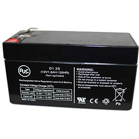 AJC® Brand Replacement Home Alarm Batteries 12V 1 to 5.5 Amps