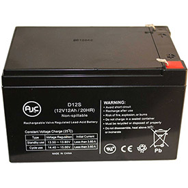 AJC® Brand Replacement Home Alarm Batteries 12V 12 Amps