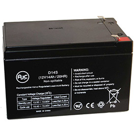 AJC® Brand Replacement Scooter Batteries 12V 14 - 15 Amps