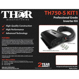 THOR Power Inverters, Complete Kits