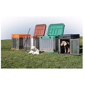 Poly/Aluminum Dog Kennels