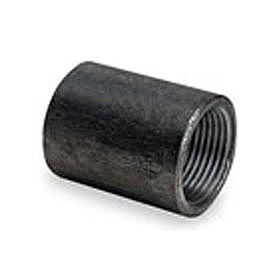 BMI Canada 11102060 Non-Recessed Taper Tapped Coupling 150# Black Steel - 6 In.
